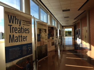 Treaty Exhibit at Eden Prairie Schools